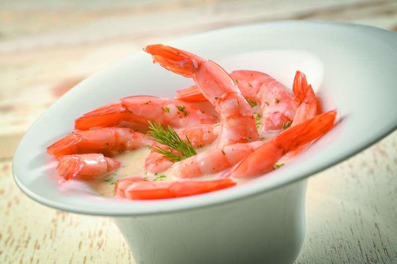 Salade-Gambas